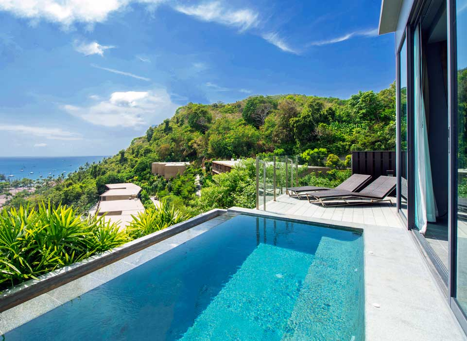 Sunsuri Phuket Ocean View Pool Villa