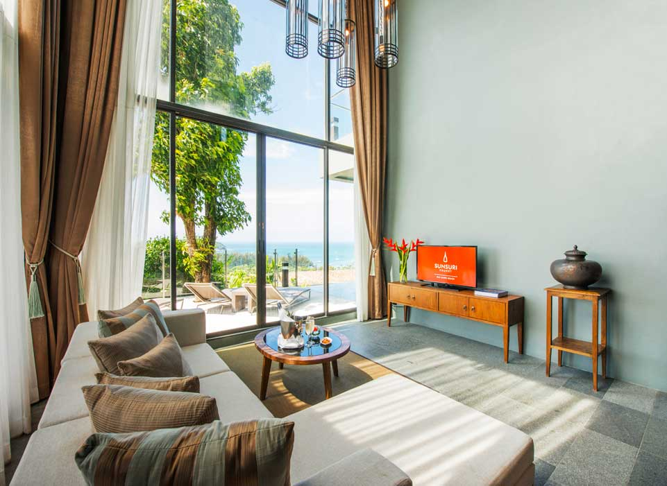 Sunsuri Phuket Ocean View Two Bedroom Pool Villa